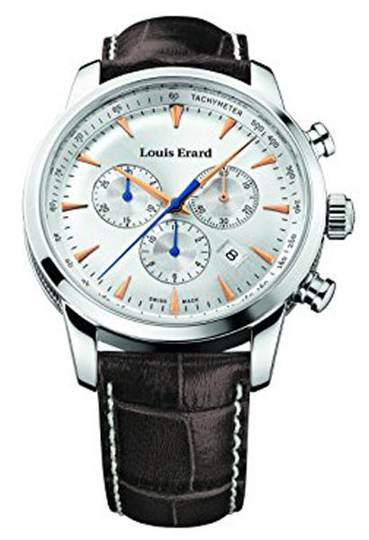 LOUIS ERARD Heritage Quartz Chronograph Watch 13900AA11.BDC101