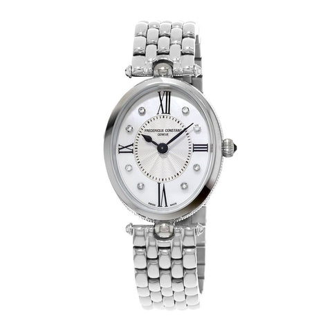 Frederique Constant Women's Diamond Bracelet Strap Watch -  FC-200RMPW2V6B