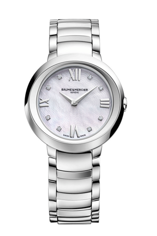 Baume & Mercier Promesse MOP dial 30mm Swiss Quartz ladies watch