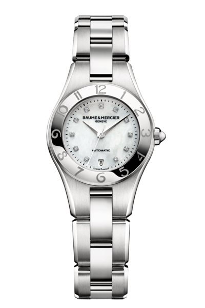 Baume & Mercier Linea 27mm automatic ladies watch MOA10113 - Ogden Of Harrogate - 1