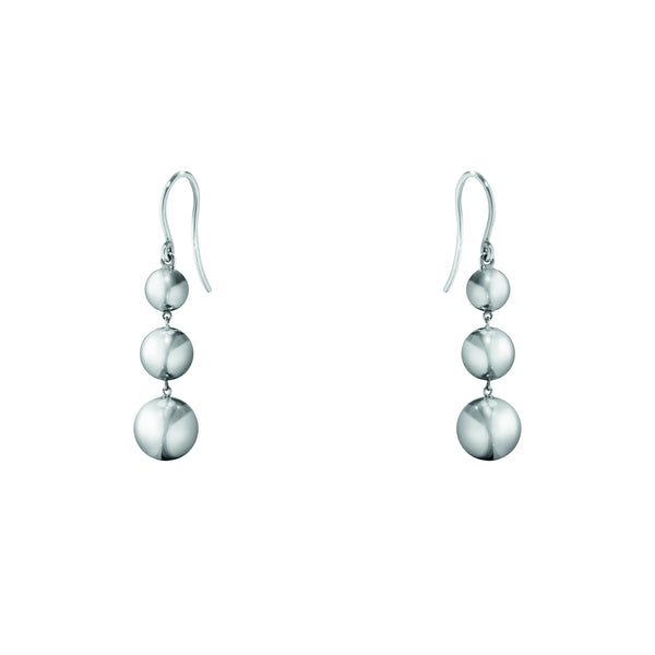 Georg Jensen Silver 'Moonlight Grapes' Drop Earrings 3539347