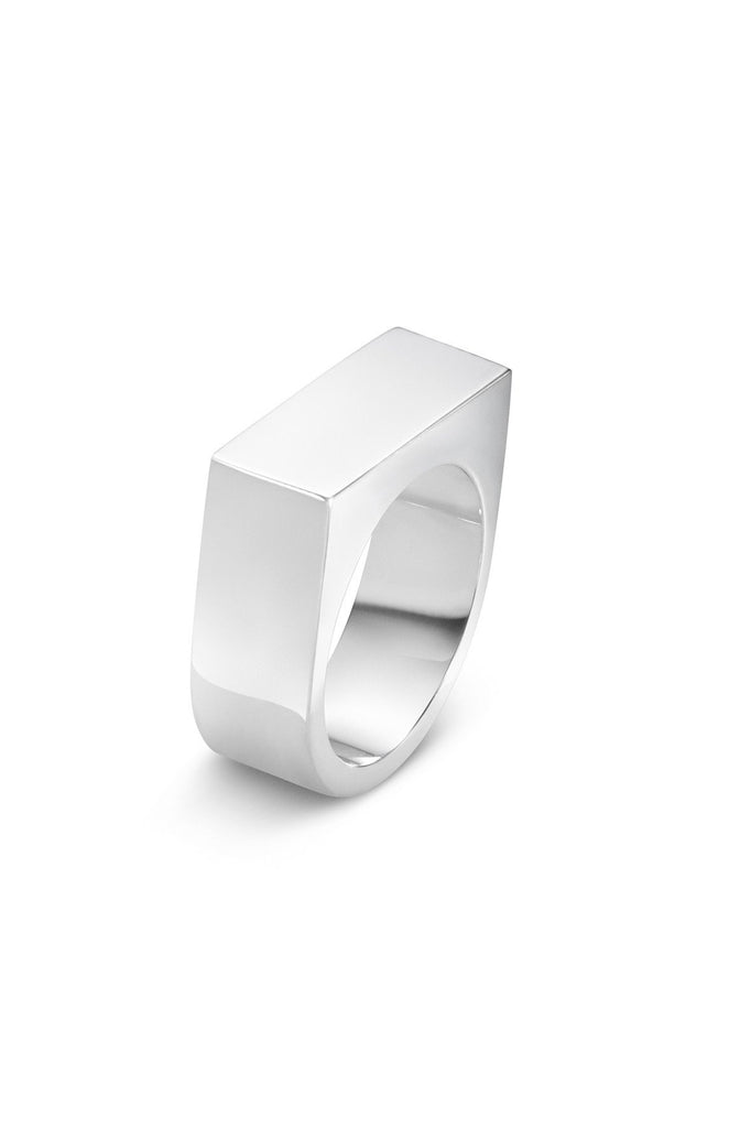 Georg Jensen Silver 'Aria' Wide Ring