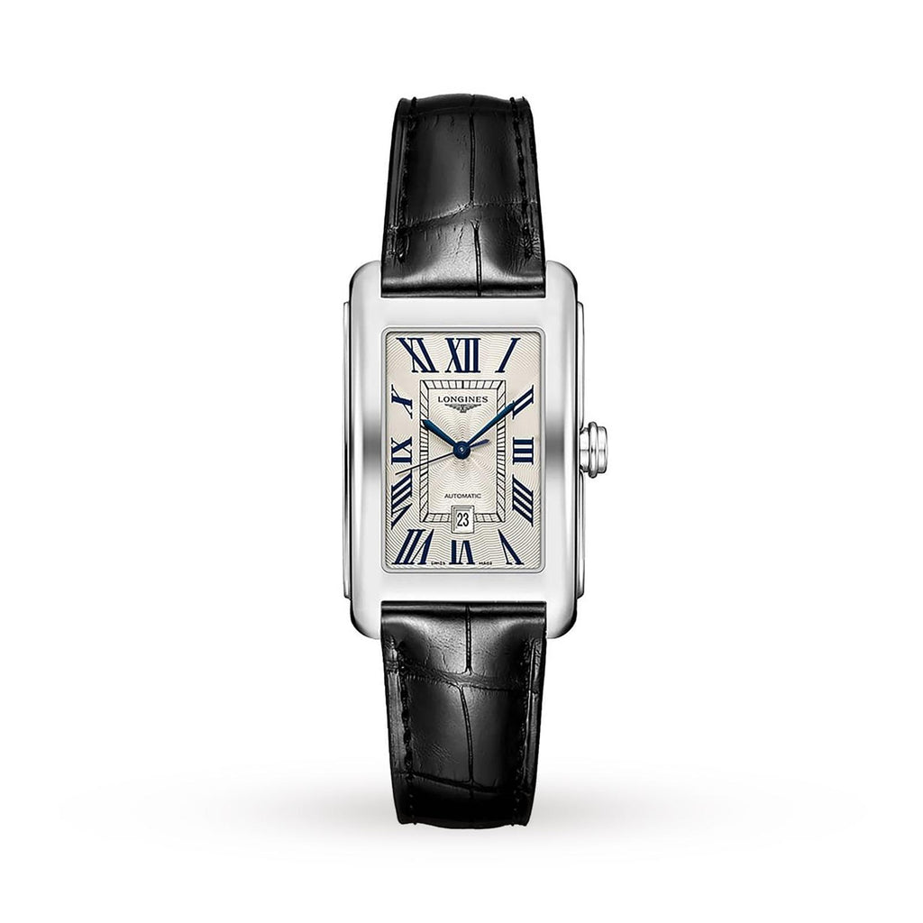 Longines DolceVita Automatic Date Watch on Leather Strap L57574710