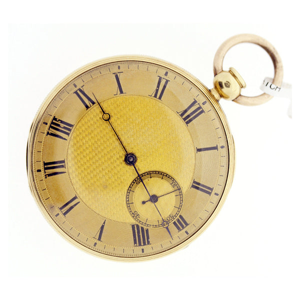 18ct yellow gold quarter repeater c.1900 pocket watch 45mm - Ogden Of Harrogate - 1