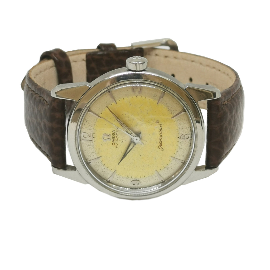 1950s Omega Seamaster Bumper Movement Watch