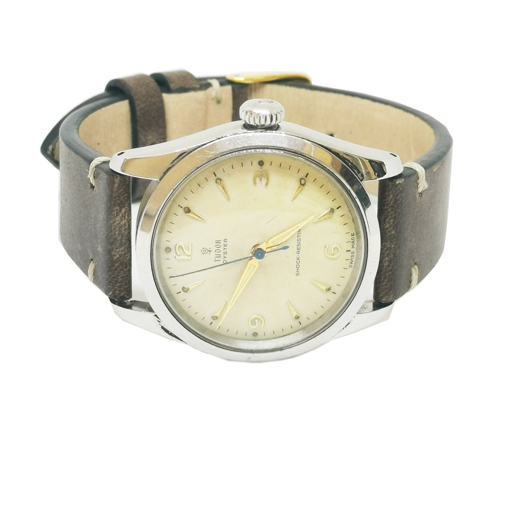1950's Vintage Tudor Oyster Manual Wind Watch - 7904