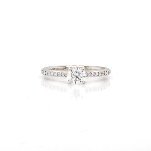 An Ogden Of Harrogate 'Rosina' Diamond Solitaire Ring