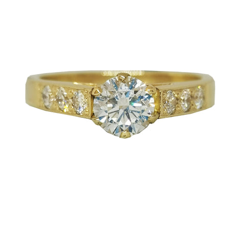 0.65 Carat Diamond Engagement Ring