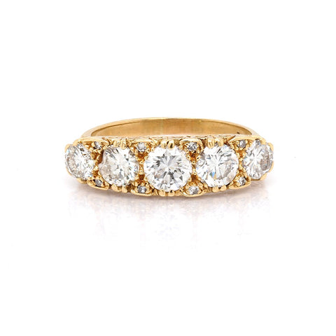 Pave Set Diamond Ring