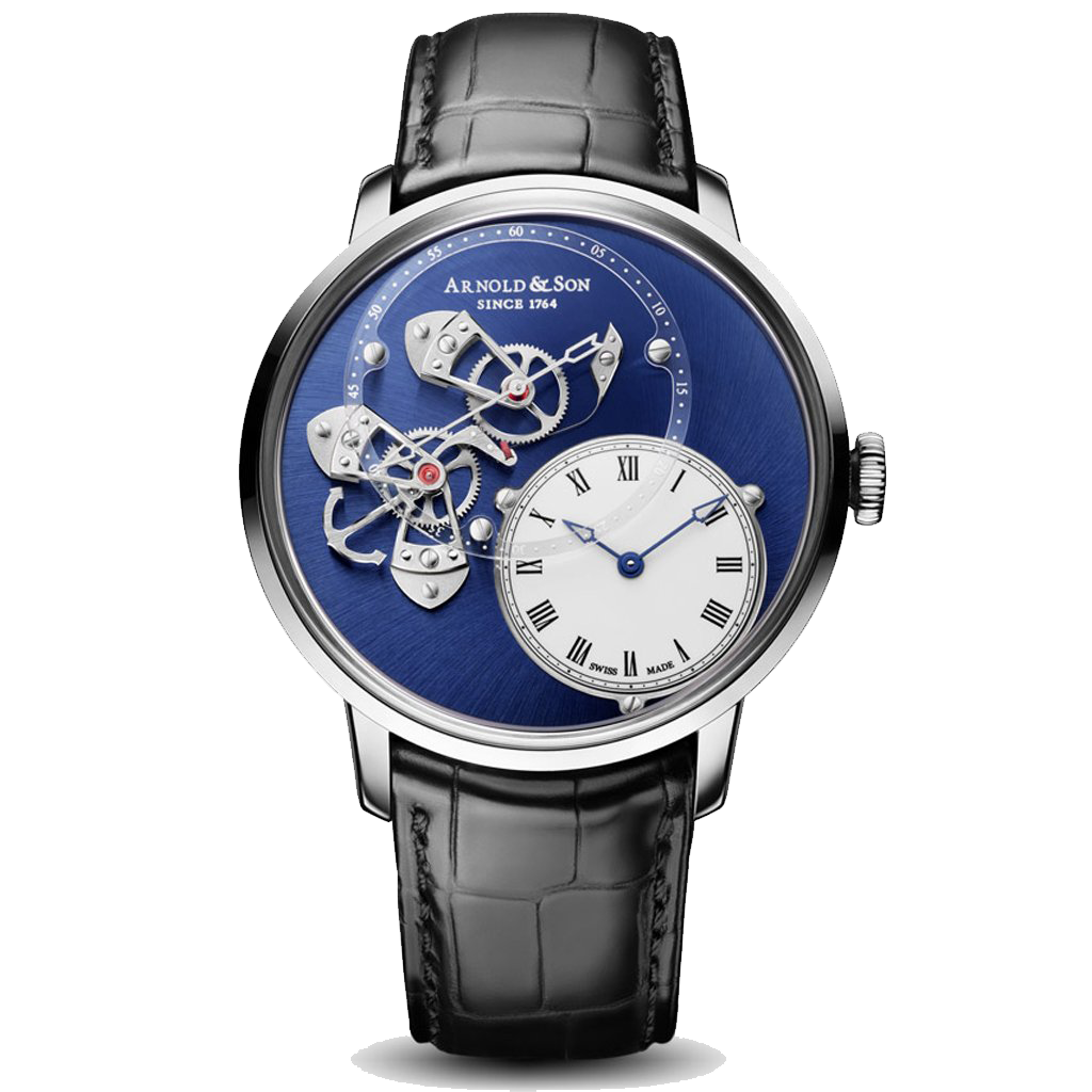 Arnold & Son DSTB Steel Watch