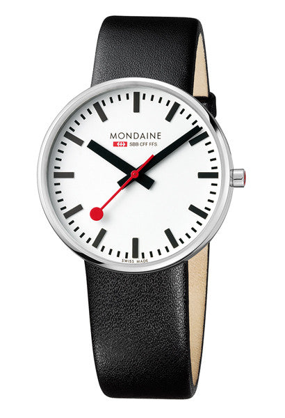 Mondaine A660.30328.11SBB EVO Giant Strap Watch 42mm -  - 1