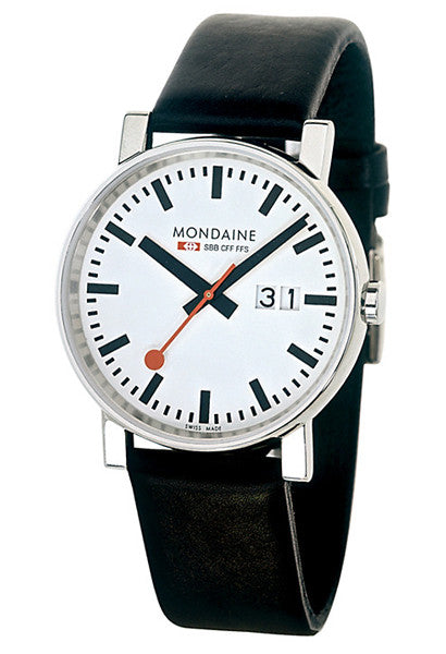 Mondaine A669.30300.11SBB Evolution EVO 35mm Big Date Watch -  - 1
