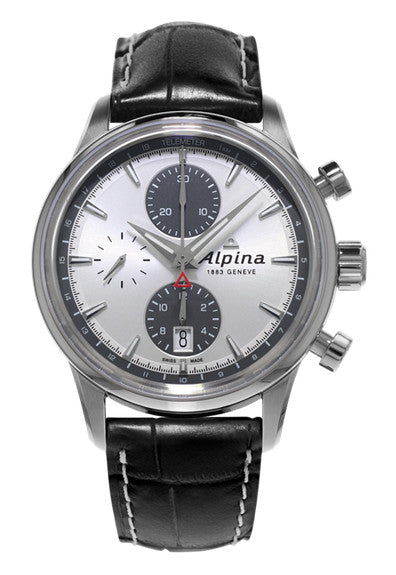 ALPINA Chronograph Automatic Watch on strap AL-750SG4E6 - Ogden Of Harrogate