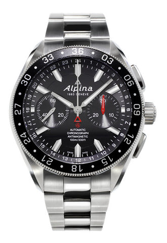 ALPINA 4 Swiss chronograph bracelet watch AL-860B5AQ6B