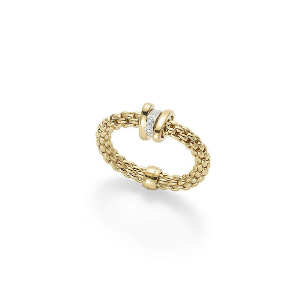 FOPE 18ct Gold Flex'it Ring AN744