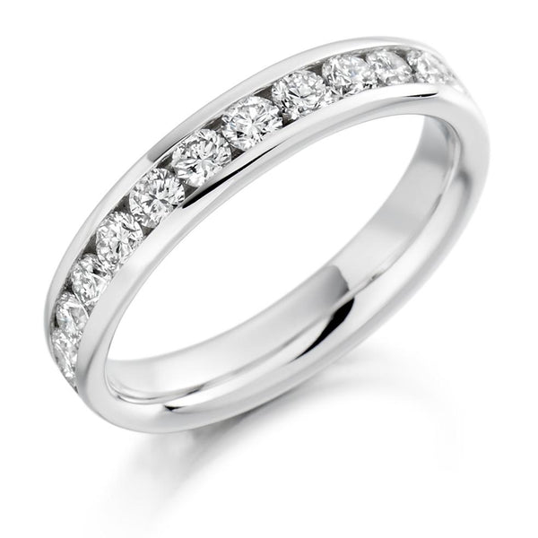 1.50ct Channel Set Diamond Full Eternity Ring