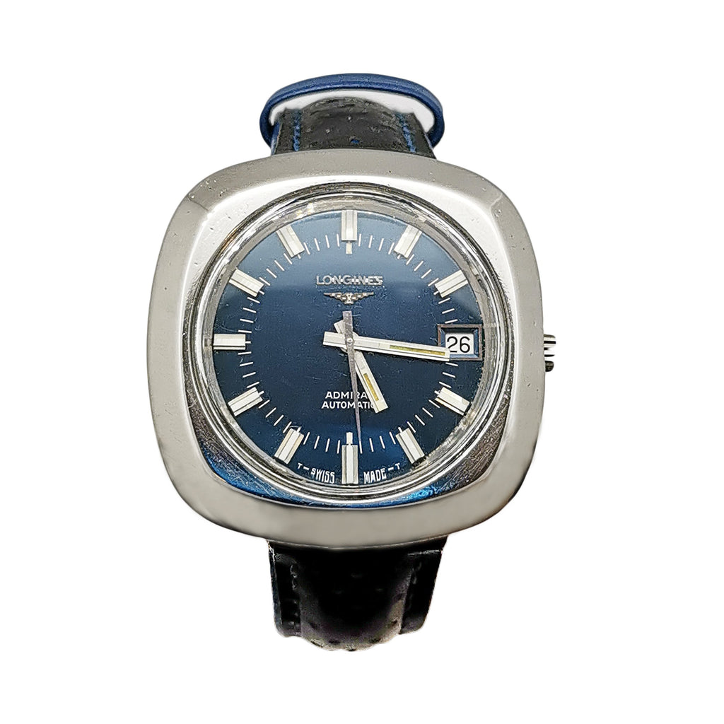 Longines Steel Admiral Automatic Watch - Circa 1970
