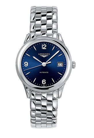 LONGINES blue velvet dial watch L47744966