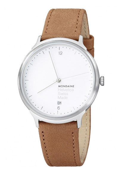 Mondaine Helvetica No. 1 Light MH1.L2210.LG watch - Ogden Of Harrogate - 1