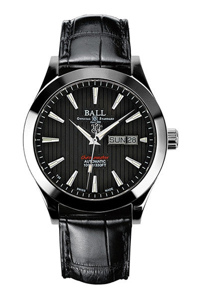 BALL Men's Engineer II Red Label Chronometer 43mm Automatic Watch NM2028C-LCJ-BK - Ogden Of Harrogate