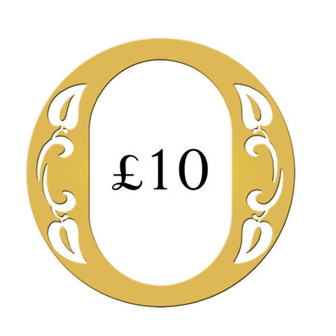 Ogden of Harrogate £10 Gift Voucher