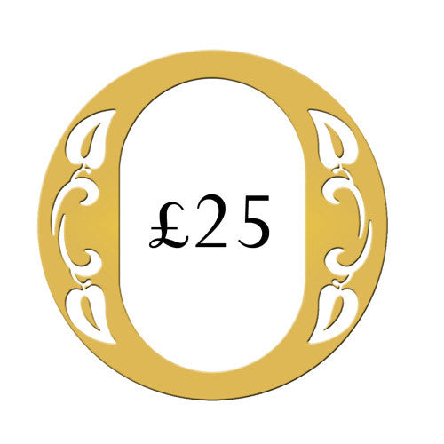 Ogden of Harrogate £25 Gift Voucher -