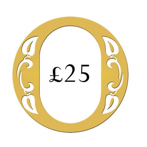 Ogden of Harrogate £25 Gift Voucher