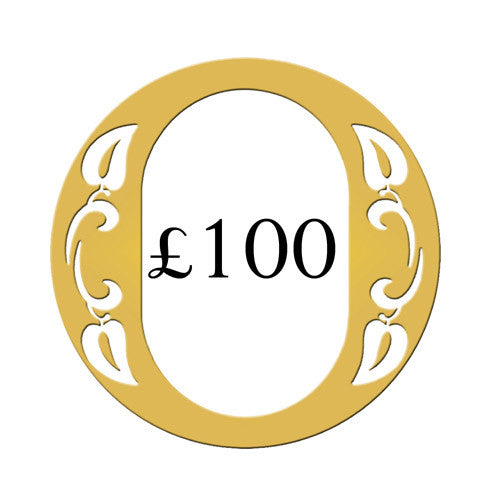 Ogden of Harrogate £100 Gift Voucher -