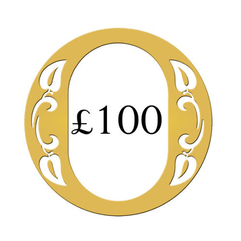 Ogden of Harrogate £100 Gift Voucher