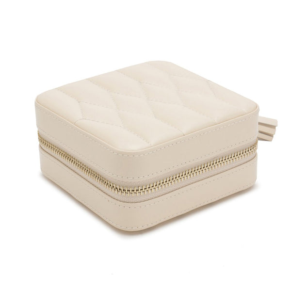 Wolf Ivory Travel Jewellery Case 329953