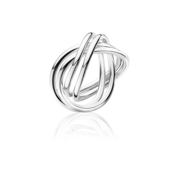 Georg Jensen Silver 'Alliance' Double Ring