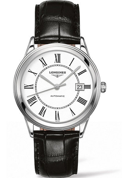Longines Flagship White Dial Strap Watch L48744212