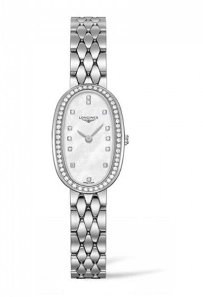 Longines Symphonette Oval Diamond Set Bracelet Watch L23050876