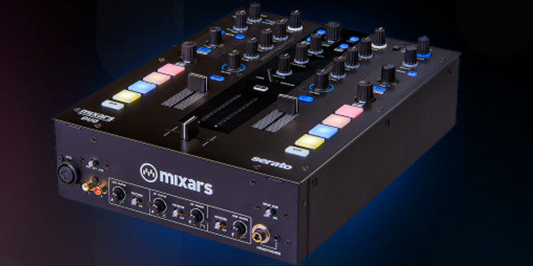 Mixars Duo DJ Mixer Full View
