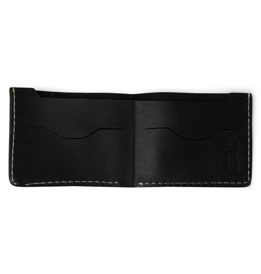 Sutro Leather Bifold Wallet Black