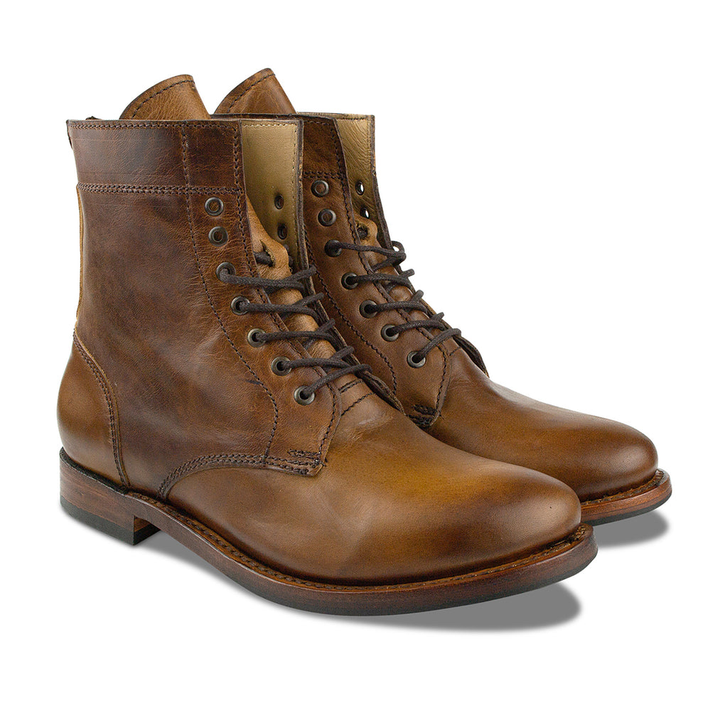Mendelle Lace Up Boot Honey