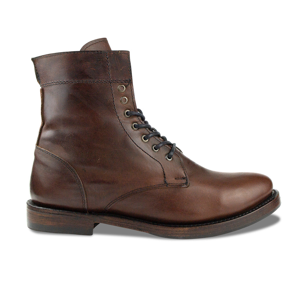 Mendelle Lace Up Boot Mahogany