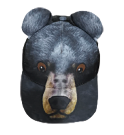 Black Bear Kid's Cap