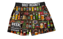 Load image into Gallery viewer, Beer for Breakfast Boxer Shorts