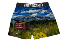 Load image into Gallery viewer, Welcome To Colorful Colorado Boxer Shorts