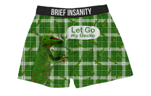 Let Go My Gecko Boxer Shorts
