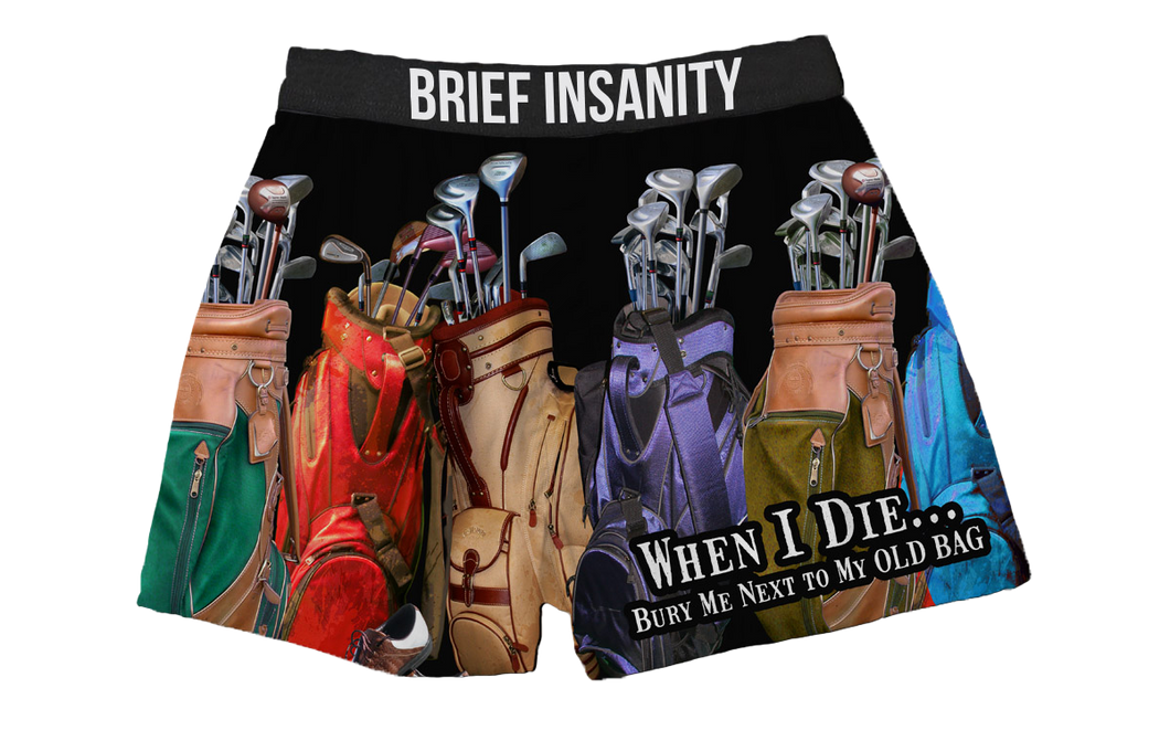 Golf When I Die Boxer Shorts