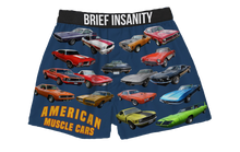 Load image into Gallery viewer, Muscle Cars Boxer Shorts