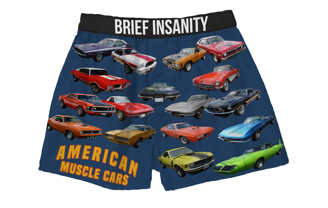 Muscle Cars Boxer Shorts
