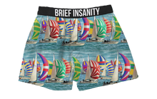 Load image into Gallery viewer, Sailboat Boxer Shorts