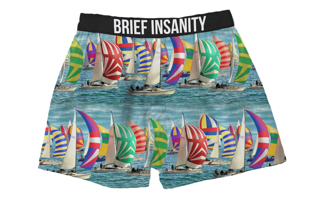 Sailboat Boxer Shorts
