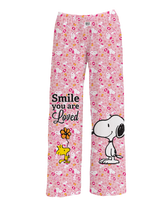 Load image into Gallery viewer, Snoopy Smile You Are Loved Pajama Pants