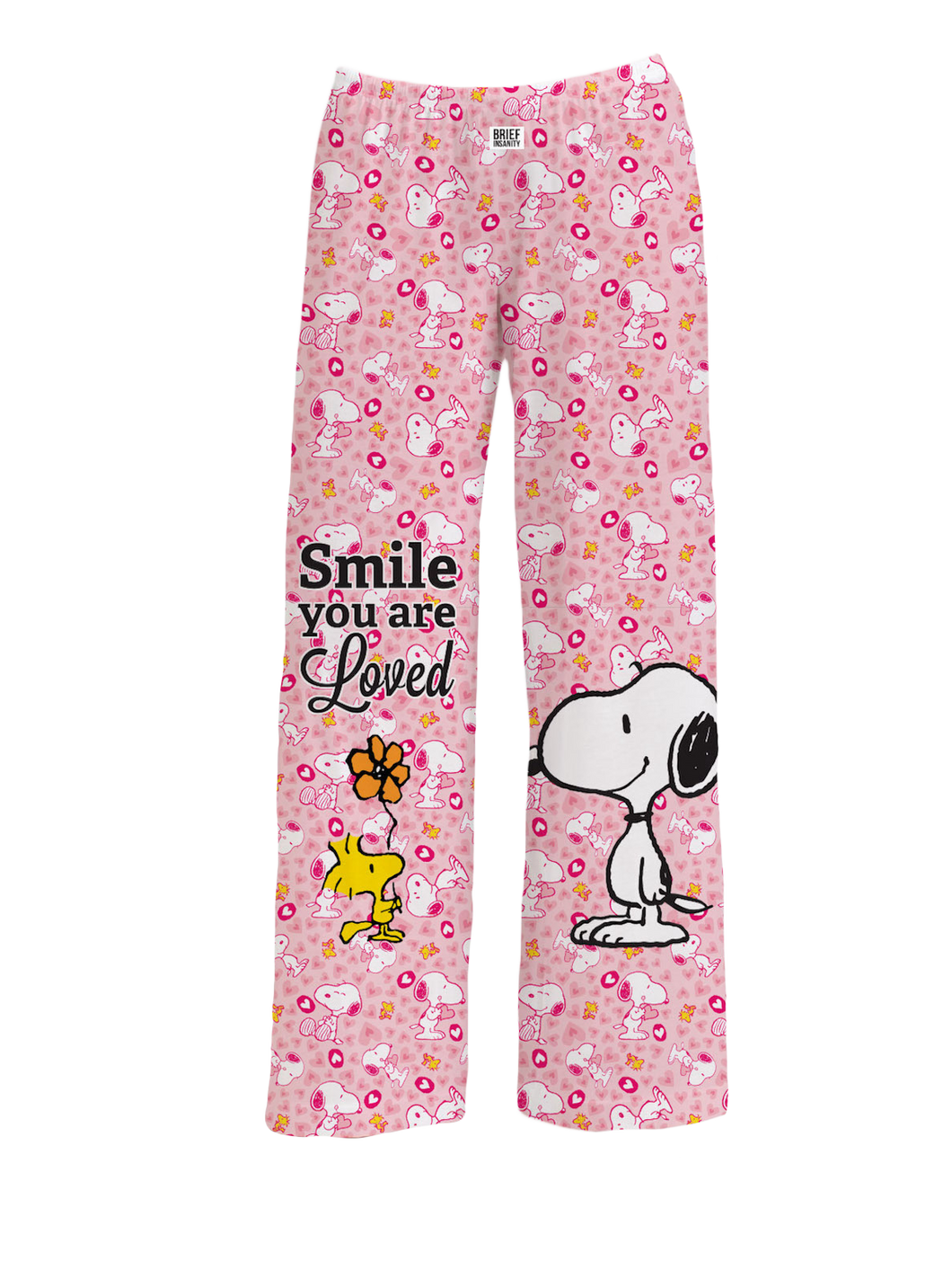 Snoopy Smile You Are Loved Pajama Pants