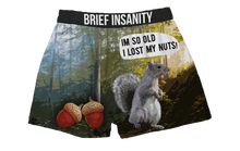Load image into Gallery viewer, I'm So Old I Lost My Nuts Boxer Shorts