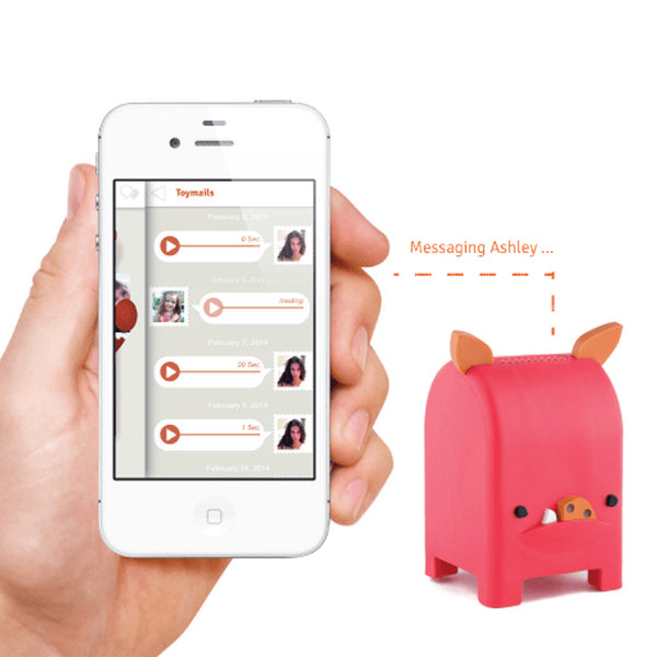 Toymail Snort – a voicemail toy for children